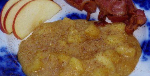 apple cider grits