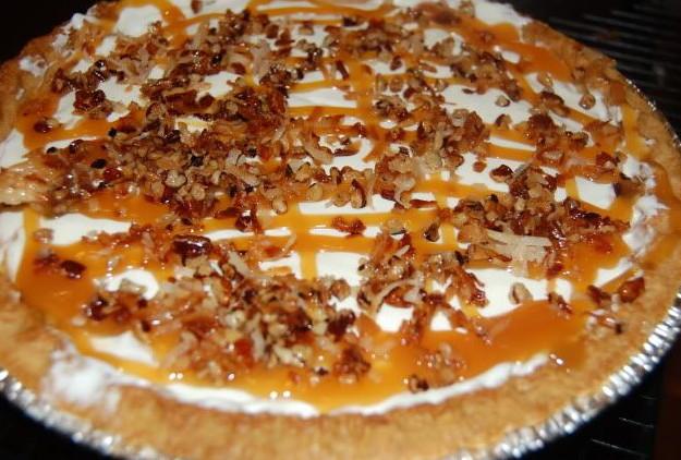 Coconut Caramel Pie