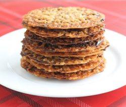 lacy oatmeal wafers